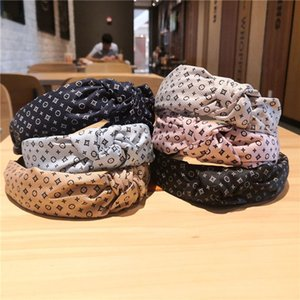 Europe and the United States headband knotted headband fashion adult cloth printing hair accessories head band