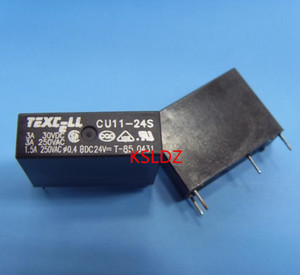 Free shipping lot (10pieces lot)100%Original New TEXC-LL CU11-24S 24VDC 4PINS 3A Power Relay