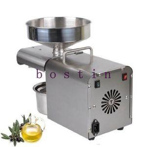 Semillas 110V / 220V automática Cold Press aceite de máquina eléctrica aceite frío Presser Aceite de girasol Extractor 1500W