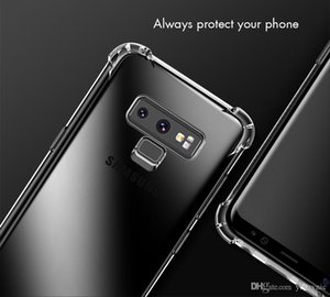 For Samsung s10 S9 S8 Plus Note8 note9 note10 A7 A8 J3 J5 J7 Air Cushion Case Crystal TPU Bumper Gel Cover iphone 11 pro xs max xr x 8 6 7