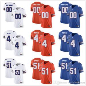 Custom Mens Youth Florida Gators jersey Cualquier nombre Cualquier número Personalizado Niños Hombre Hogar lejos NCAA College Football Jerseys