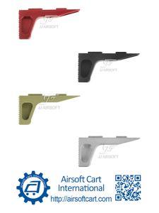 ACI SLR المتراس Handstop يدوية / وقف MOD1 لMLOK MLOK (أسود / أحمر / تان / فضي) صلب باستخدام الحاسب الآلي تشكيله
