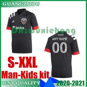 Hombre Niños 2020 2021 DC Fútbol 20 21 # 31 # 10 Gressel Flores # 7 ARRIOLA # 9 camisetas de fútbol de la MLS KAMARA superior de Tailandia tamaño uniforme S-XXL