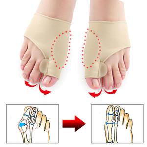 Toe Separator Hallux Valgus мозолей Корректор Orthotics Ножки Bone Thumb Настройщик Коррекция Педикюр Носок Выпрямитель