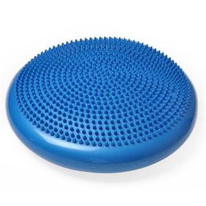 Yoga Übung balance pad massage sitzkissen yoga balance trainer bälle punkt massage ball aufblasbare fitness ball für gesundheit YMB001