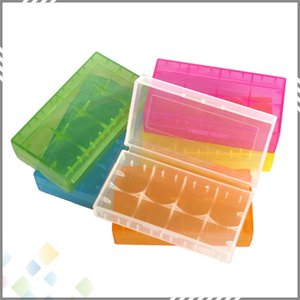 2*18650 Battery Case Box Safety Holder Storage Container Plastic Portable Case fit 2*18650 or 4*18350 CR123A 16340 Battery DHL Free