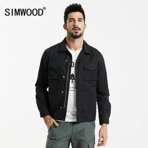 SIMWOOD 2017 Jacket Primavera Men Moda Casual Slim Fit Coats alta qualidade Windbreaker WJ1667