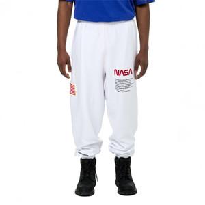 Marchi di lusso pantaloni pantaloni della tuta Mens High Street Designer pantaloni casual Pantaloni Pantaloni Uomo Donne Hip Hop Sweatpants formato S-XL