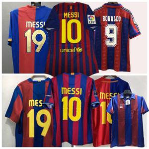 1899 1991 1992 1996 1997 1998 2004 2005 2006 2007 2008 2009 2010 2011 2012 Retro maillot de football de Barcelone RONALDINHO chemise XAVI de football