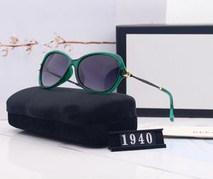 Роскошные летние Очки женские солнцезащитные очки и солнцезащитные очки Женщина UV400 Cat Head 1940 5 Вариант цвета высокого качества с коробкой