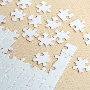 Isı Presi Blank Boya Sublime Benzersiz Hediye Transferi Kağıt Hediye için DIY Yazdırılabilir Puzzle