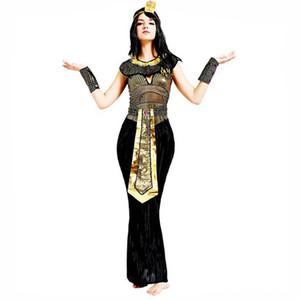 Pharaon égyptien Egypte ancienne Cléopâtre gros-Prince Princesse Costume pour femmes hommes Halloween cosplay costume vêtements pour adultes egyptien