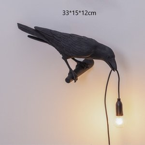 Bird Lamp LED Wall Lamps with Plug Cord for Home Living Room Bedside Lights Aisle Restaurant Home Decor Bird Wall Light Fixtures
