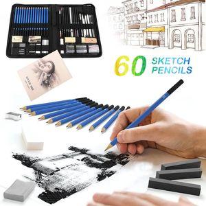 60Pcs / Lot Drawing Pene Set Student Painting Art
