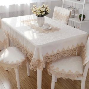 Neue Europäische spitze tischdecke rechteckige runde quadratische couchtisch abdeckung wohnkultur handtuch textil esstisch läufer tuch