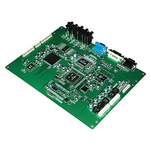 Guangdong Green Solder Mask DIP Leiterplattenfertigung und SMT-Montageservice