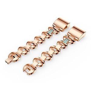 Wearlizer remplacement pour Fitbit 2 bandes de charge pour les femmes en métal Bracelet / Bracelet / assesories / sangles / Poignet pour Fitbit Charge h 2 femmes Sm