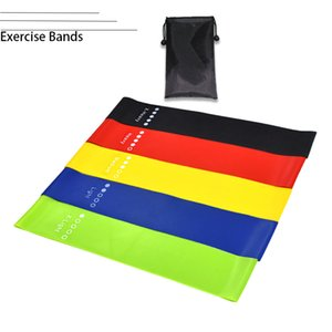 Fitness Resistance Bands, Home Gym Yoga Latex Training Band for Men Women ,Carry Bag,Set of 5