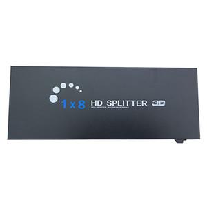 8 Port HDMI Switcher 1 In 8 Out Ver 1.4 Ultra HD 4K HDMI