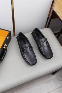 Nazik Lüks tasarımcı Erkek Siyah Hakiki Deri Ayakkabı Sivri Burun Erkek İş Oxfords Casu Haoyun V21 için yüksek kaliteli Resmi elbise ayakkabı
