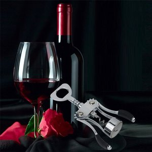 Multi functional red wine and beer bottle opener Portable alloy wine bottle opener creative Manual bottle opening tool T9I00399
