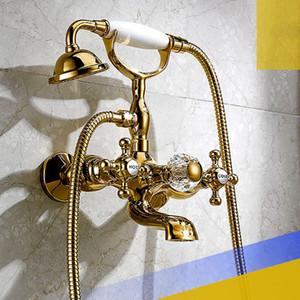 douche bain classique contemporaine atterrissage assis bain européen archaize crock bibcock téléphone set de douche