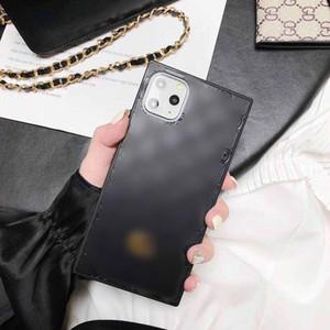 Casos Designer telefone para iPhone 11 cobertura Pro Max 7 8 mais X XS Couro iPhone Max XR SE moda PU