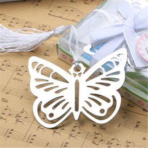 Pratico Lettura Essential Metal Butterfly Bookmark con nappe Boxed Picture Color Metal Segnalibro Bookmark Segnalibri
