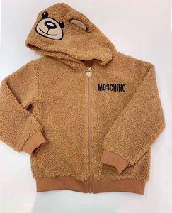 Мягкий теплый флис с капюшоном для детей Пальто ребёнки мальчиков куртки Дети Верхняя одежда зима весна осень