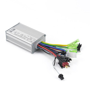 Electric Bicycle BLDC Motor Brushless Speed Controller 250W 350W 24V 36V 48V DC With Hall E-Brake Sensor Reverse 13A 6Mosfet