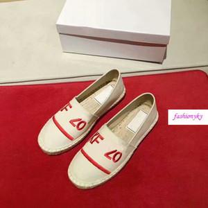 chaussures de luxe lovers Hot avec Tiger Head simples chaussures et chaussures de paille brodé