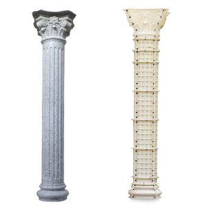 ABS plastic roman concrete column moulds Multiple styles european pillar mould construction moulds for garden villa home house