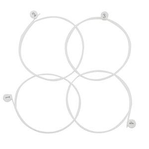 1 Set Ukulele Strings Nylon Clear