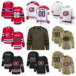 Montreal Canadiens Hockey Phillip Danault Jersey Paul Byron Jordie Benn Shea Weber Brendan Gallagher Gradiente Diamante Personalizado