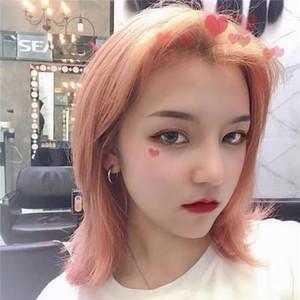 Korean Style New Cool Circle Earrings Men and Women Temperament Couple Ring Earrings Fashion Earrings Student Tide