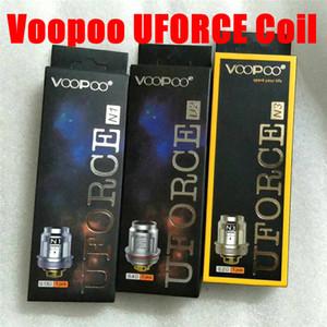VOOPOO UFORCE Головка Катушки U2 0.4 Ом N1 N3 U4 U8 Сменные Катушки Для UFORCE Бак Распылитель Перетащите 2 Перетащите Мини-комплект Бесплатная доставка