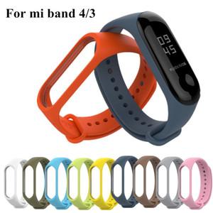 Remplacement silicone poignet bracelet bande pour Xiaomi MI Band 4 3 Bracelet à puce Nouveau bracelet de montre intelligente Accessoires