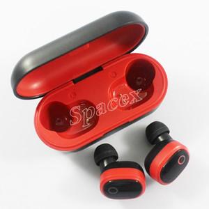 DT-6 TWS Sport Wireless Headphones Bluetooth V5.0 Confortevole in-ear Earphones Esecuzione universale per HUAWEI iPhone Xiaomi Samsung