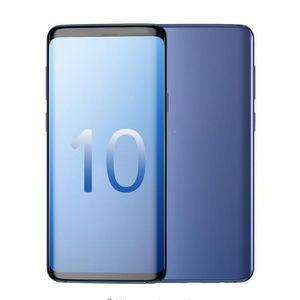 Smartphon Goophone 10PLUS 6.3inch MTK6580 quad core schermo 1GB di RAM 4GB ROM completa del cellulare Visualizza 4G cellulare LTE Android7.0 sbloccato
