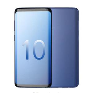 Smartphon Goophone 10plus 6.3inch MTK6580 dört çekirdekli 1GB RAM 4GB ROM Tam Ekran Cep telefonu Göster 4G LTE Android7.0 Kilidi cep telefonu
