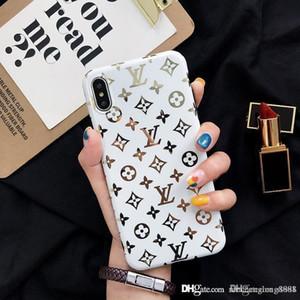 16 Gold-Mode Luxus-Designer-Telefonkasten für iPhone XSMax XR XS X 8plus 7 7plus hintere Abdeckung Telefonkasten