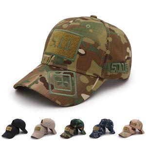 berretto militare tattico sport esterno di Snapback striscia Military Cap Hat Camouflage Semplicità Army Camo caccia protezione della sciarpa per gli uomini adulti
