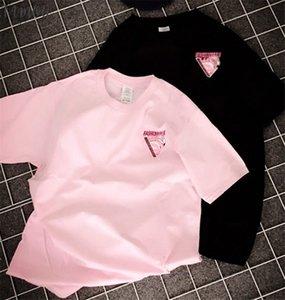 2020 Summer Women Tshirt Short Sleeve T Shirt Animal Flamingo Children Little Girl Shirt Top Tees Women Men Shirts