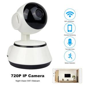 720P Cámara IP Wi-Fi Cámara de vigilancia inalámbrica P2P CCTV Wifi Cámara IP Detección de movimiento V380 Cámara de seguridad IR para el hogar Monitor de bebé