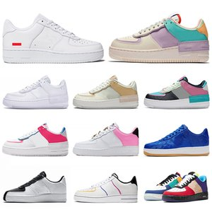 supreme Nike Air Force 1 Forces Shoes af1 Casual Shoes High Low 1 One Utility Designer de chaussures de skateboard pour dames de tennis formateurs baskets de sport 36-45