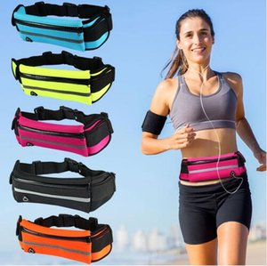 Waterproof Waist Bag For iPhone X 8 7 6 6S Plus Samsung S8 S9 Plus Outdoor Running Sport Fanny Pack Pouch Water Resistant Phone Case