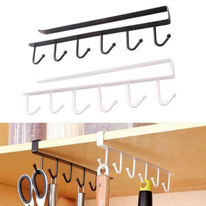 2PCS Kitchen supporto del gancio di archiviazione Holder Hanging Rack Organizer Armadio Armadio Usa Nuovo colgadores para pared #XTN