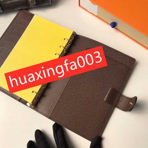 Las pequeñas y medianas de hojas sueltas multifunción portátil de gama alta de registro de libreta libro negocios memorando reunión carpeta de shell desmontaje