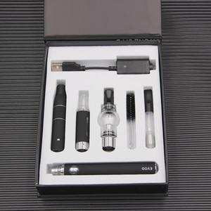 매직 4 1 전자 담배 vape 키트 왁스 기화기 전에 MT3 유리 글로 블 분무기 EVOD 배터리 기화기 펜 무료 배송
