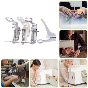 Útil nuevo 4pcs del hogar Máquina de coser piezas de zurcido prensatelas Cerrar punta abierta acolchar máquina de coser nacional